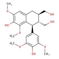 lyoniresinol (CHEBI:68168)