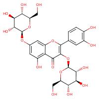 quercetin 3,7-di-O-beta-D-glucoside (CHEBI:131497)