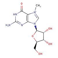 7-methylguanosine (CHEBI:20794)