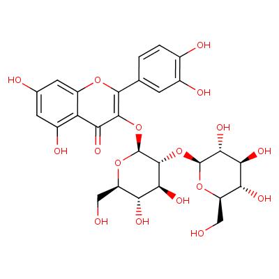 quercetin 3-O-beta-D-glucosyl-(1->2)-beta-D-glucoside