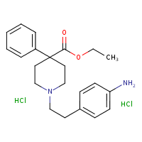 anileridine dihydrochloride (CHEBI:61208)