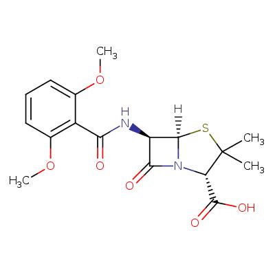 methicillin (CHEBI:6827)