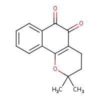 beta-lapachone (CHEBI:10429)