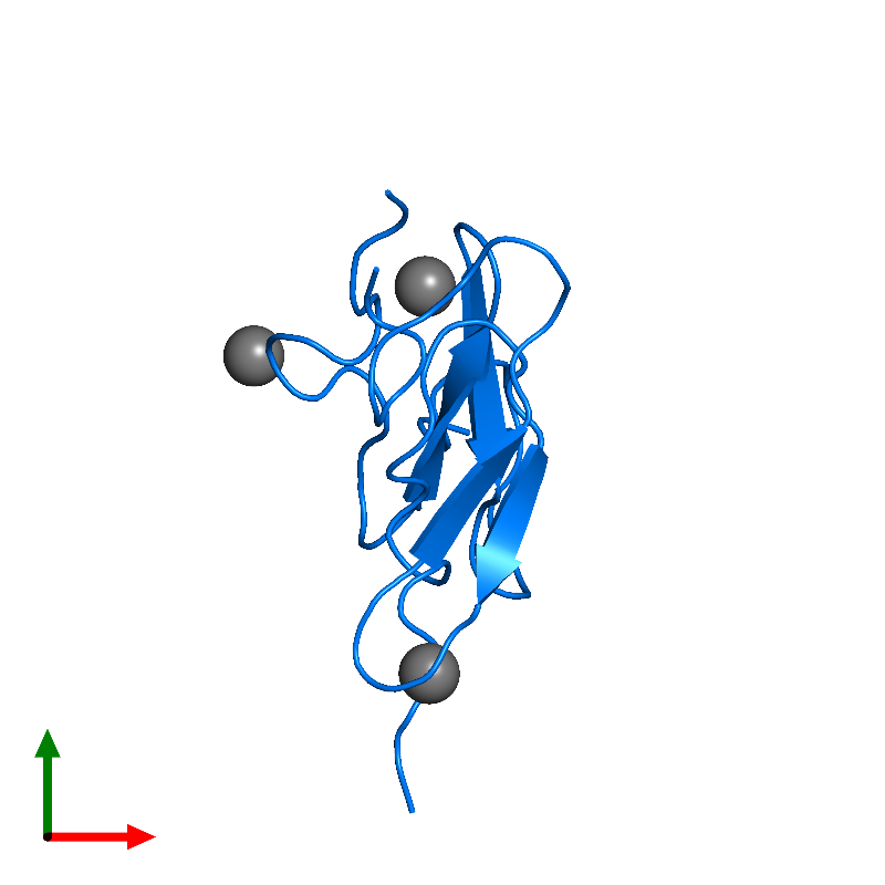 <div class='caption-body'>PDB entry 1edm contains 2 copies of Coagulation factor IXa light chain in assembly 1. This protein is highlighted and viewed from the top.</div>