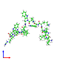 PDB 1g89 coloured by chain and viewed from the front.