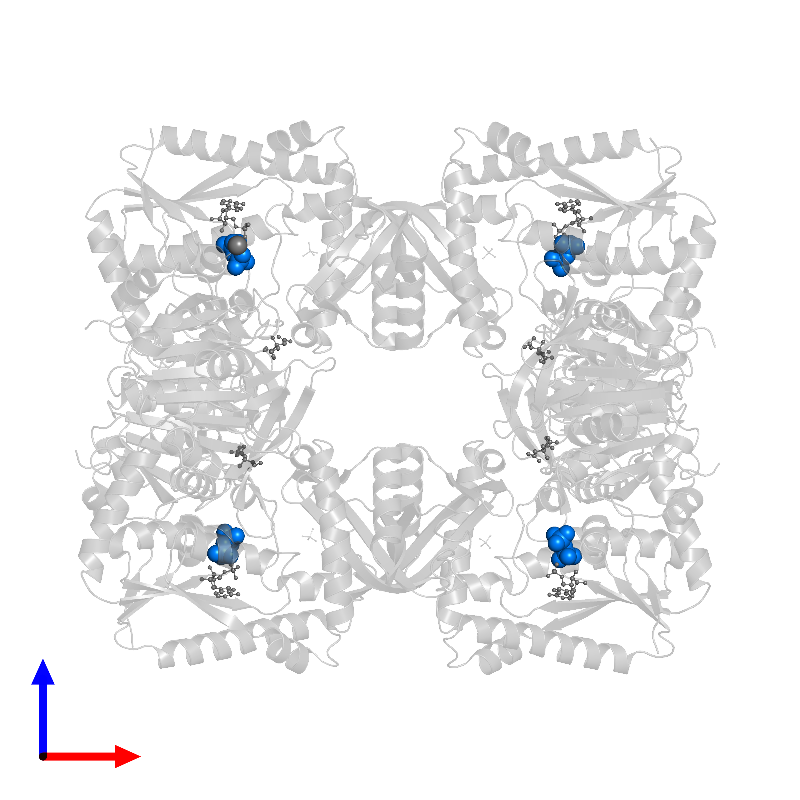 <div class='caption-body'>PDB entry 1gpm contains 4 copies of PYROPHOSPHATE 2- in assembly 1. This small molecule is highlighted and viewed from the front.</div>