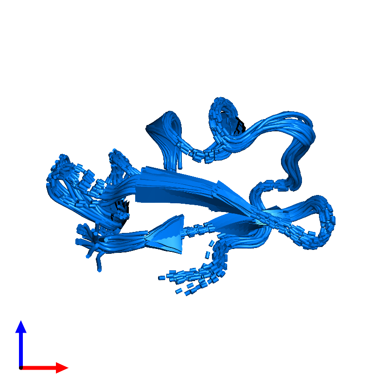<div class='caption-body'>PDB entry 1hly contains 1 copy of Potassium channel toxin alpha-KTx 2.5 in assembly 1. This protein is highlighted and viewed from the front.</div>
