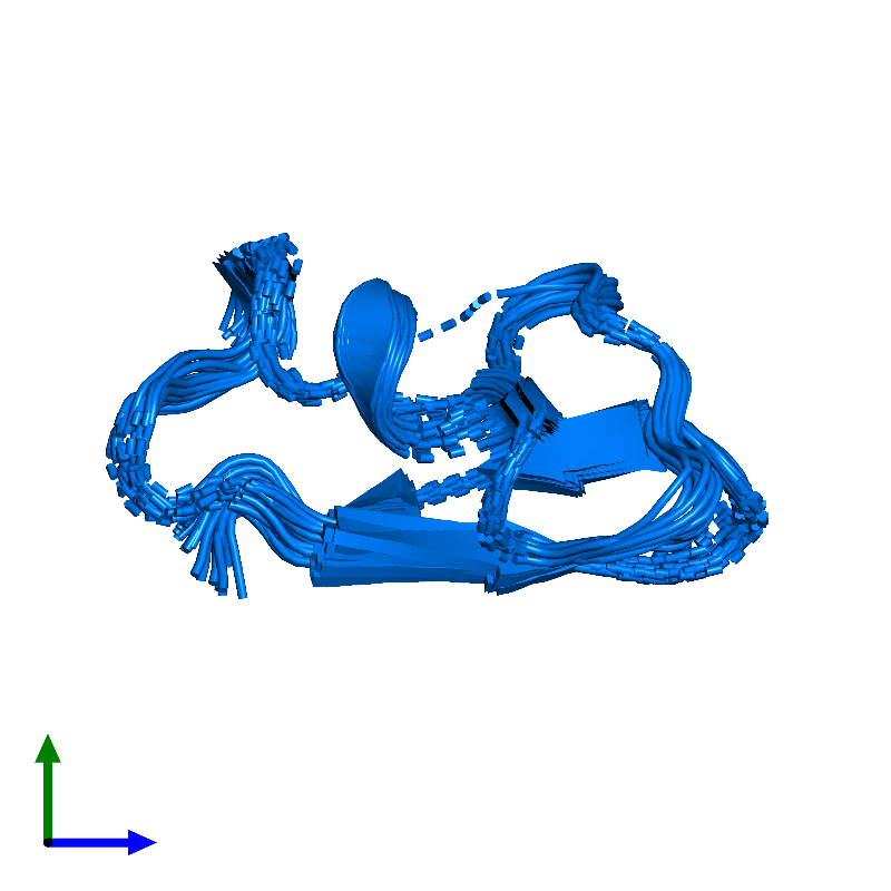 <div class='caption-body'>PDB entry 1hly contains 1 copy of Potassium channel toxin alpha-KTx 2.5 in assembly 1. This protein is highlighted and viewed from the side.</div>