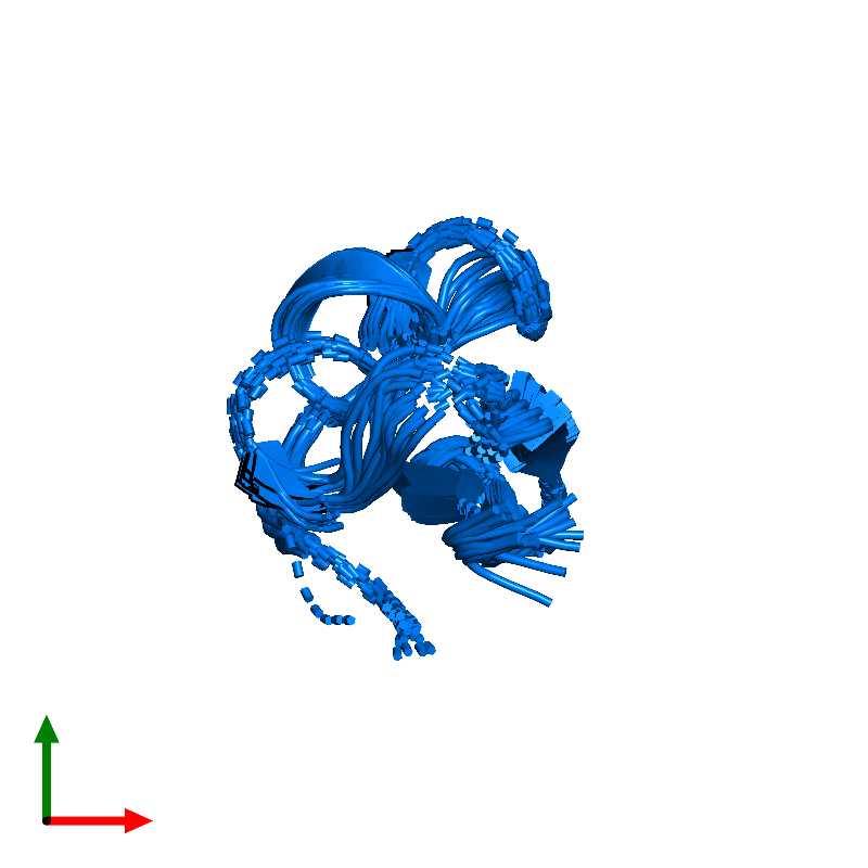 <div class='caption-body'>PDB entry 1hly contains 1 copy of Potassium channel toxin alpha-KTx 2.5 in assembly 1. This protein is highlighted and viewed from the top.</div>