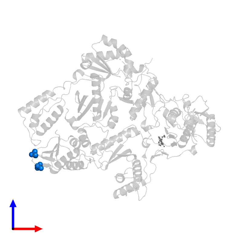 <div class='caption-body'>PDB entry 1lwc contains 2 copies of PHOSPHATE ION in assembly 1. This small molecule is highlighted and viewed from the front.</div>