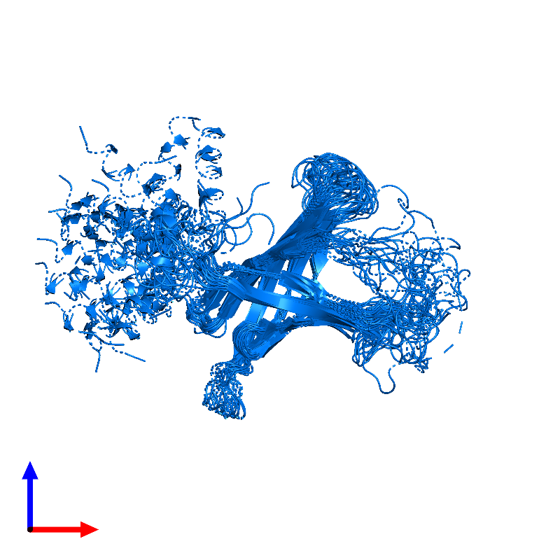 <div class='caption-body'>PDB entry 1mm5 contains 1 copy of Lipid A palmitoyltransferase PagP in assembly 1. This protein is highlighted and viewed from the front.</div>