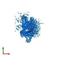 PDB 1mm5 contains 1 copy of Lipid A palmitoyltransferase PagP in assembly 1. This protein is highlighted and viewed from the top.