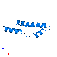 PDB 1mn3 contains 1 copy of Vacuolar protein sorting-associated protein 9 in assembly 1. This protein is highlighted and viewed from the front.