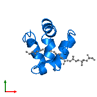 PDB 1n89 contains 1 copy of Non-specific lipid-transfer protein 2G in assembly 1. This protein is highlighted and viewed from the top.