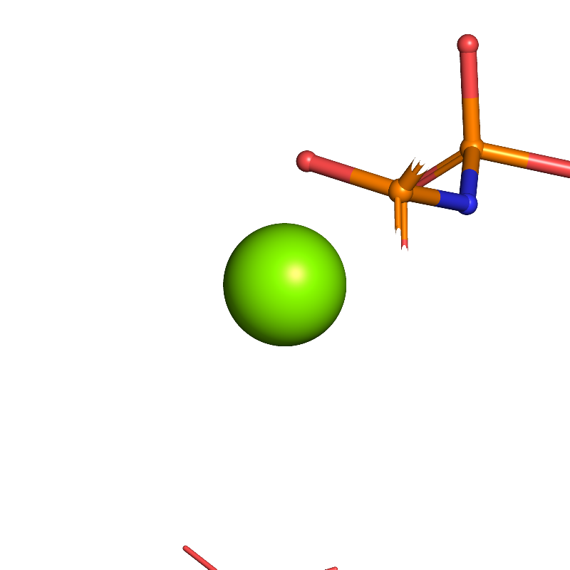 <div class='caption-body'><ul class ='image_legend_ul'>The binding environment for an instance of MG: MAGNESIUM ION<li class ='image_legend_li'>There are 1 MG molecules in PDB entry 1ngj.</li></ul></div>