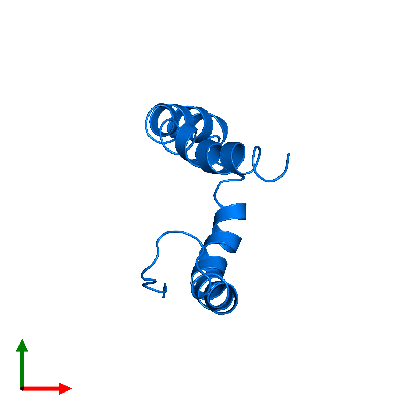 <div class='caption-body'>PDB entry 1o8t contains 1 copy of APOLIPOPROTEIN C-II in assembly 1. This protein is highlighted and viewed from the top.</div>