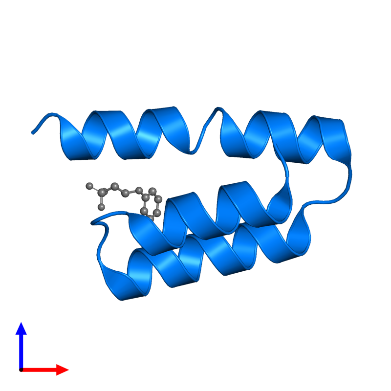 <div class='caption-body'>PDB entry 1oks contains 1 copy of Phosphoprotein in assembly 1. This protein is highlighted and viewed from the front.</div>
