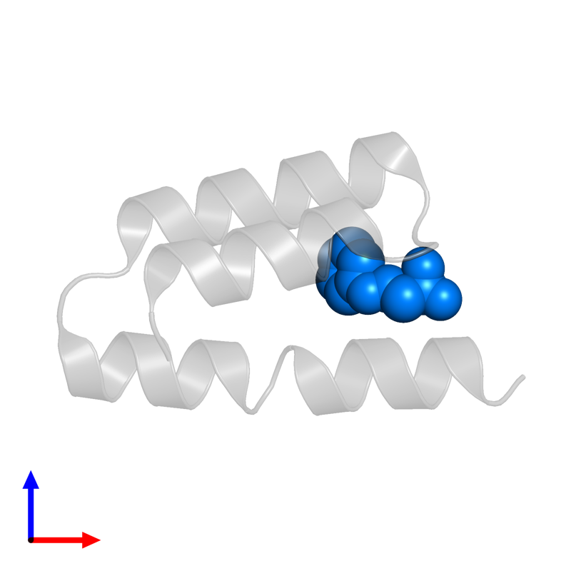 <div class='caption-body'>PDB entry 1oks contains 1 copy of 2-[N-CYCLOHEXYLAMINO]ETHANE SULFONIC ACID in assembly 1. This small molecule is highlighted and viewed from the front.</div>