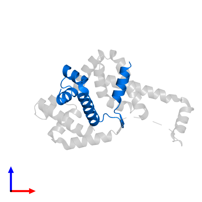 <div class='caption-body'>PDB entry 1or7 contains 1 copy of Anti-sigma-E factor RseA in assembly 1. This protein is highlighted and viewed from the front.</div>