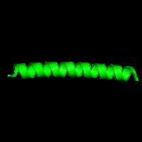 1 copy of SCOP domain 57960 (Leucine zipper domain) in General control transcription factor GCN4 in PDB 1piq.