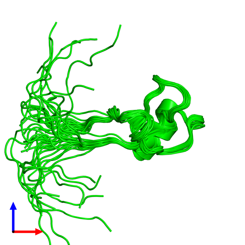<div class='caption-body'><ul class ='image_legend_ul'>The deposited structure of PDB entry 1ps2 coloured by chemically distinct molecules and viewed from the side. The entry contains: <li class ='image_legend_li'>1 copy of Trefoil factor 1</li><li class ='image_legend_li'>There are no non-polymeric molecules</li></ul></li></ul></li></div>