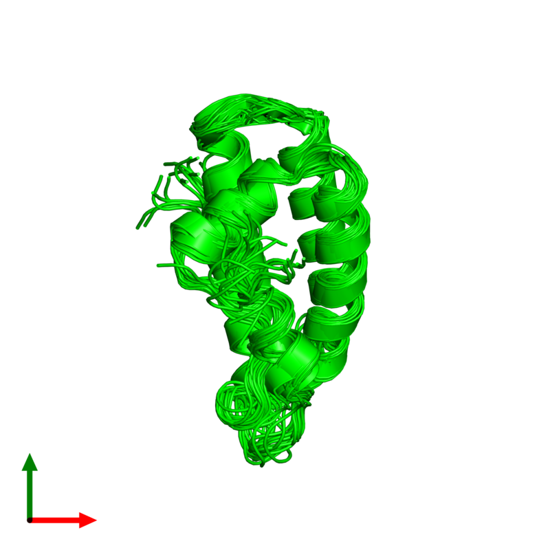 <div class='caption-body'><ul class ='image_legend_ul'>The deposited structure of PDB entry 1q2z coloured by chemically distinct molecules and viewed from the top. The entry contains: <li class ='image_legend_li'>1 copy of X-ray repair cross-complementing protein 5</li><li class ='image_legend_li'>There are no non-polymeric molecules</li></ul></li></ul></li></div>