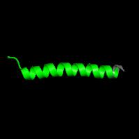 1 copy of Pfam domain PF02529 (Cytochrome B6-F complex subunit 5) in Cytochrome b6-f complex subunit 5 in PDB 1q90.