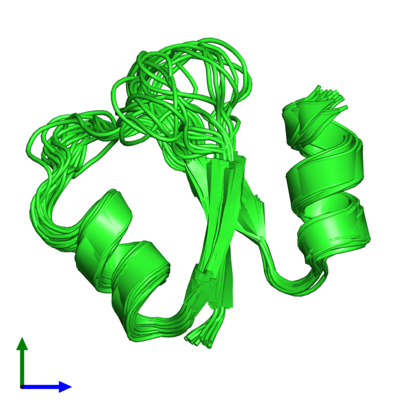 <div class='caption-body'><ul class ='image_legend_ul'>The deposited structure of PDB entry 1qhk coloured by chain and viewed from the front. The entry contains: <li class ='image_legend_li'>1 copy of Ribonuclease H</li><li class ='image_legend_li'>There are no non-polymeric molecules</li></ul></li></ul></li></div>