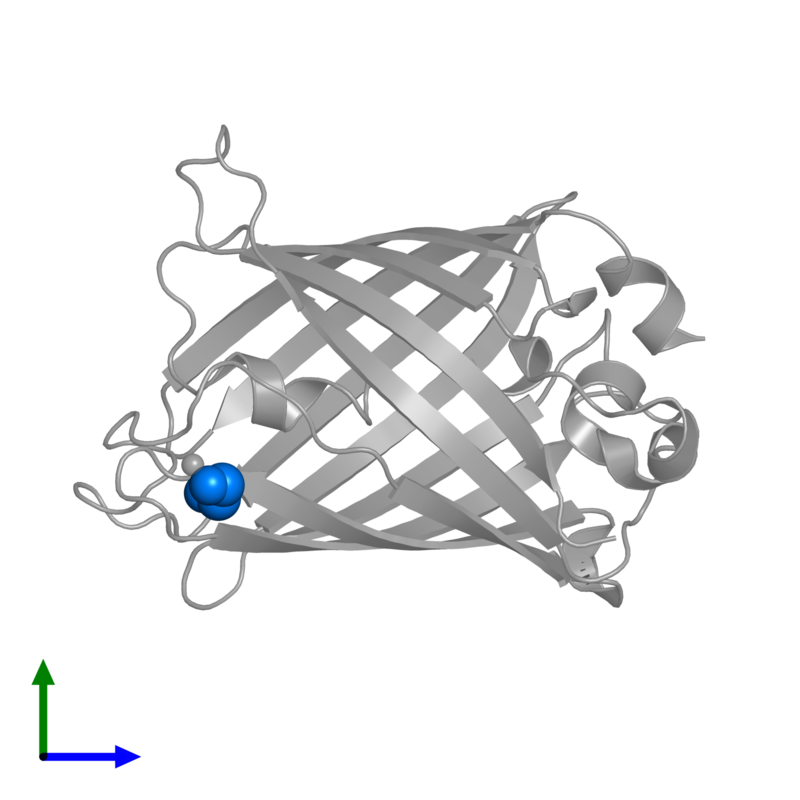<div class='caption-body'>PDB entry 1qyf contains 1 copy of 1,2-ETHANEDIOL in assembly 1. This small molecule is highlighted and viewed from the front.</div>