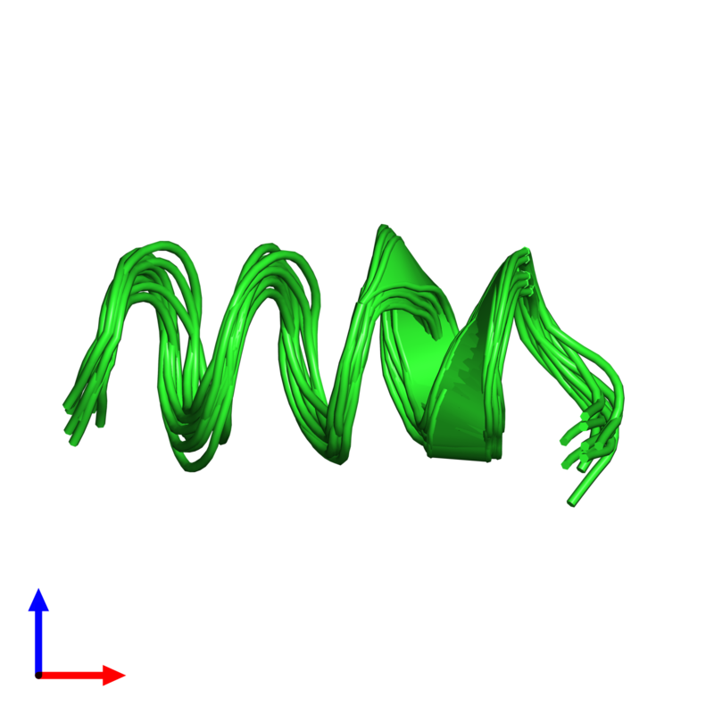 <div class='caption-body'><ul class ='image_legend_ul'>The deposited structure of PDB entry 1sut coloured by chain and viewed from the side. The entry contains: <li class ='image_legend_li'>1 copy of DNA replication terminus site-binding protein</li><li class ='image_legend_li'>There are no non-polymeric molecules</li></ul></li></ul></li></div>