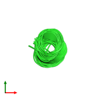 PDB 1sut coloured by chain and viewed from the top.
