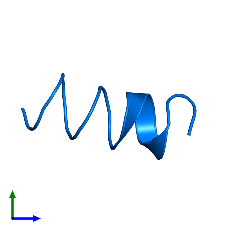 <div class='caption-body'>PDB entry 1sut contains 1 copy of DNA replication terminus site-binding protein in assembly 1. This protein is highlighted and viewed from the front.</div>