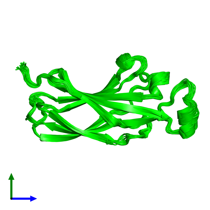 <div class='caption-body'><ul class ='image_legend_ul'>The deposited structure of PDB entry 1tey coloured by chemically distinct molecules and viewed from the front. The entry contains: <li class ='image_legend_li'>1 copy of ASF1 anti-silencing function 1 homolog A</li><li class ='image_legend_li'>There are no non-polymeric molecules</li></ul></li></ul></li></div>