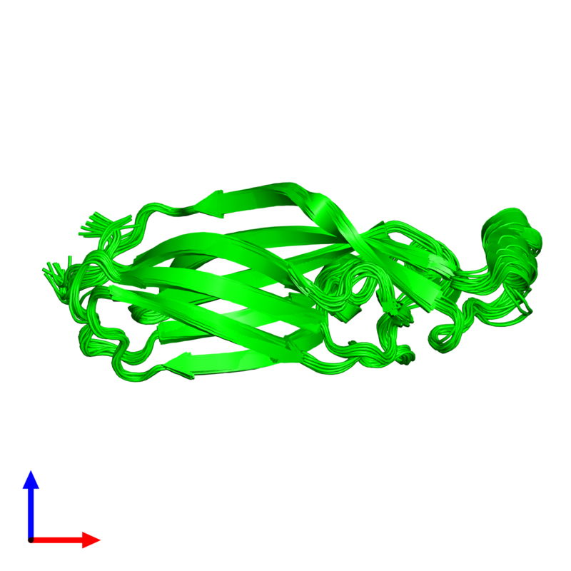 <div class='caption-body'><ul class ='image_legend_ul'>The deposited structure of PDB entry 1tey coloured by chemically distinct molecules and viewed from the side. The entry contains: <li class ='image_legend_li'>1 copy of ASF1 anti-silencing function 1 homolog A</li><li class ='image_legend_li'>There are no non-polymeric molecules</li></ul></li></ul></li></div>