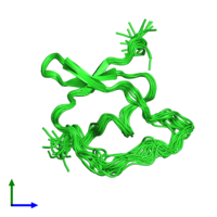 PDB 1tih coloured by chain and viewed from the front.
