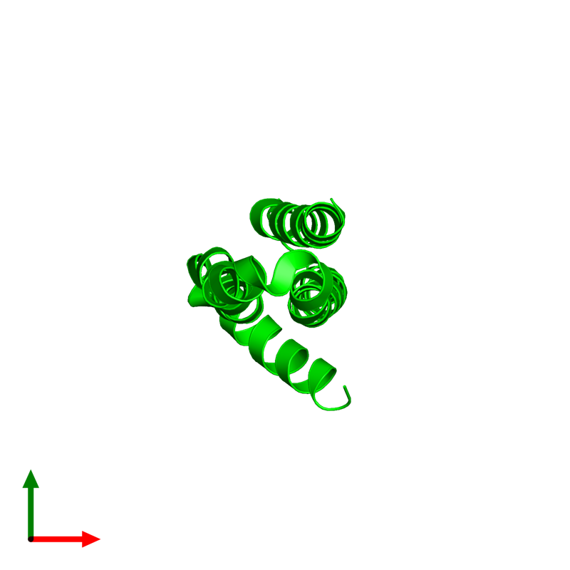 <div class='caption-body'><ul class ='image_legend_ul'>The deposited structure of PDB entry 1tkn coloured by chemically distinct molecules and viewed from the top. The entry contains: <li class ='image_legend_li'>1 copy of Soluble APP-beta</li><li class ='image_legend_li'>There are no non-polymeric molecules</li></ul></li></ul></li></div>