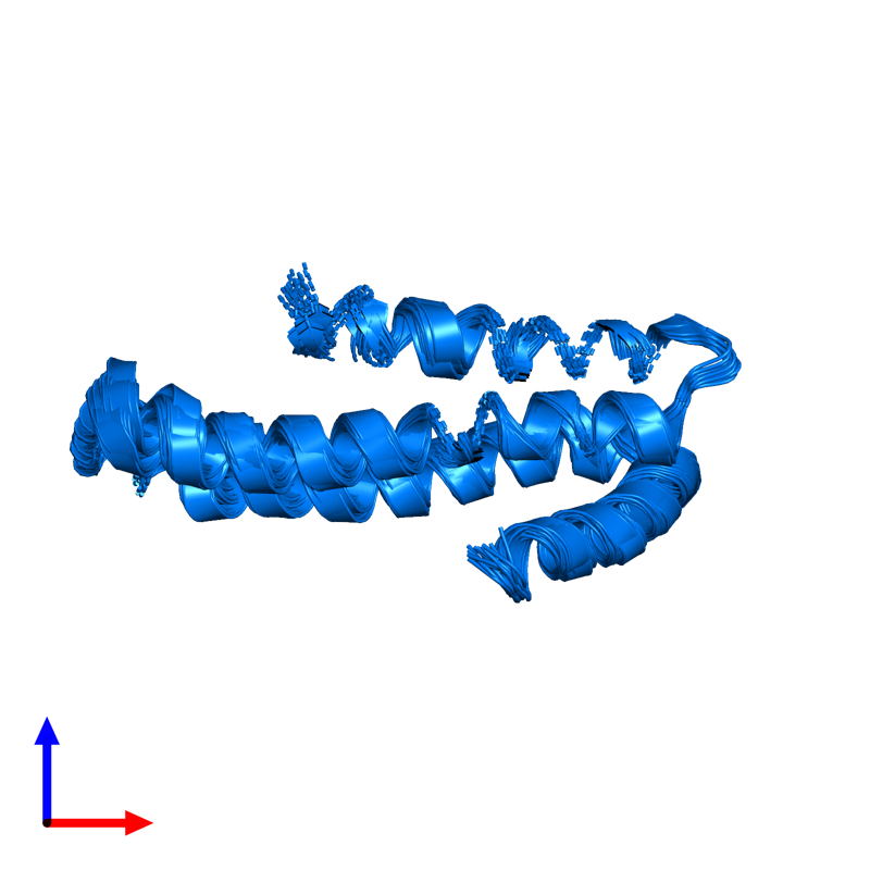 <div class='caption-body'>PDB entry 1tkn contains 1 copy of Soluble APP-beta in assembly 1. This protein is highlighted and viewed from the front.</div>