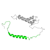 1 copy of CATH domain 1.20.5.510 (Single alpha-helices involved in coiled-coils or other helix-helix interfaces) in Cytochrome b6-f complex subunit 4 in PDB 1vf5.