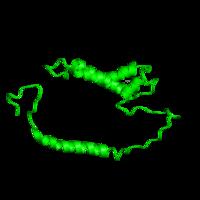 1 copy of SCOP domain 81647 (a domain/subunit of cytochrome bc1 complex (Ubiquinol-cytochrome c reductase)) in Cytochrome b6-f complex subunit 4 in PDB 1vf5.