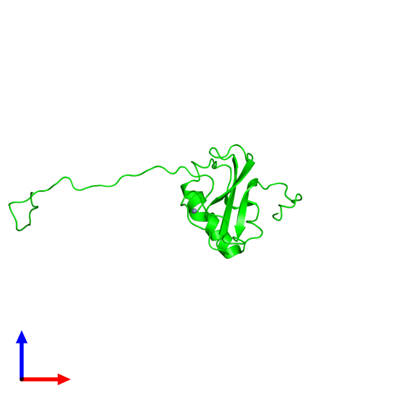 <div class='caption-body'><ul class ='image_legend_ul'> 0-meric assembly 1 of PDB entry 2cs2 coloured by chemically distinct molecules and viewed from the side. This assembly contains:</ul></div>