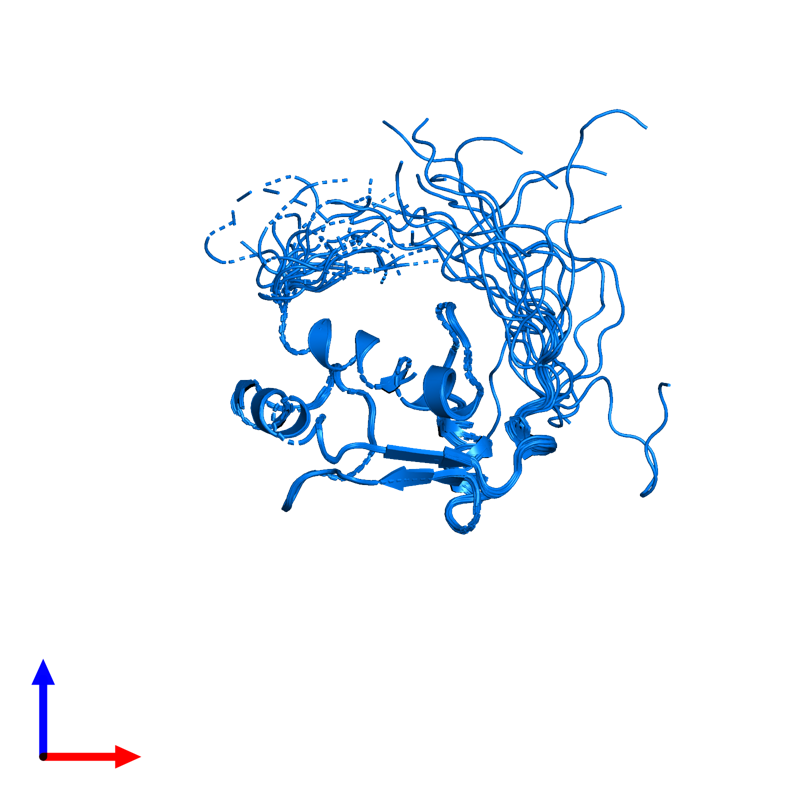 <div class='caption-body'>PDB entry 2dn4 contains 1 copy of General transcription factor II-I in assembly 1. This protein is highlighted and viewed from the front.</div>