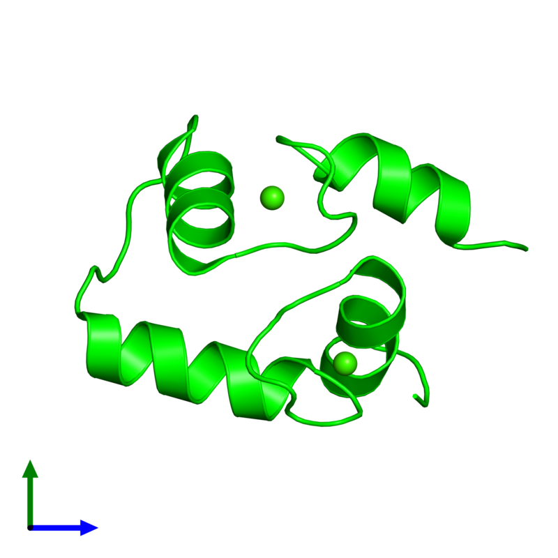 <div class='caption-body'><ul class ='image_legend_ul'> 0-meric assembly 1 of PDB entry 2hf5 coloured by chemically distinct molecules and viewed from the front. This assembly contains:</ul></div>