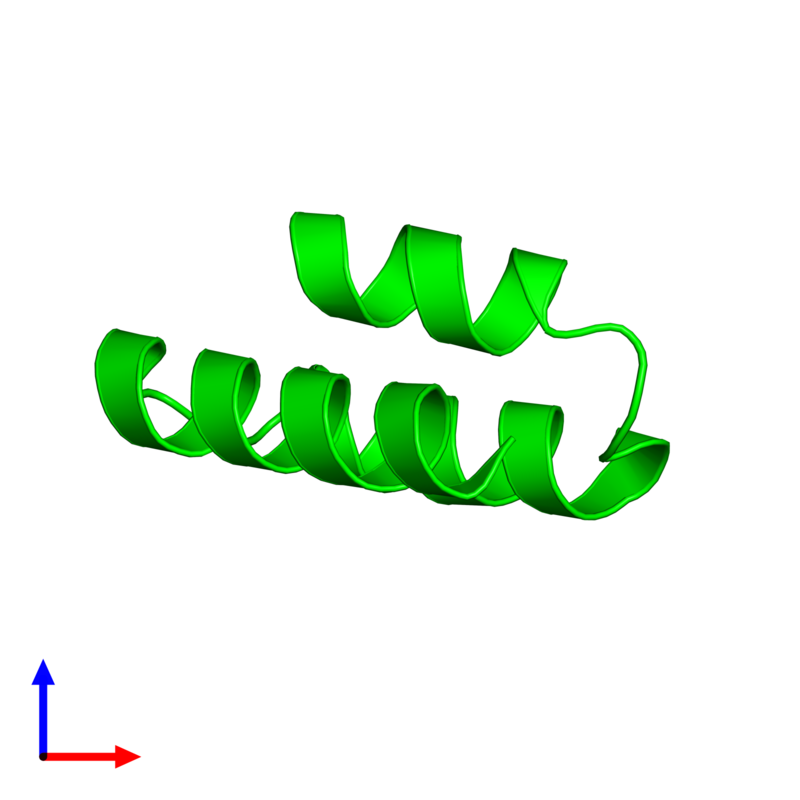 <div class='caption-body'><ul class ='image_legend_ul'> 0-meric assembly 1 of PDB entry 2k9d coloured by chemically distinct molecules and viewed from the side. This assembly contains:</ul></div>