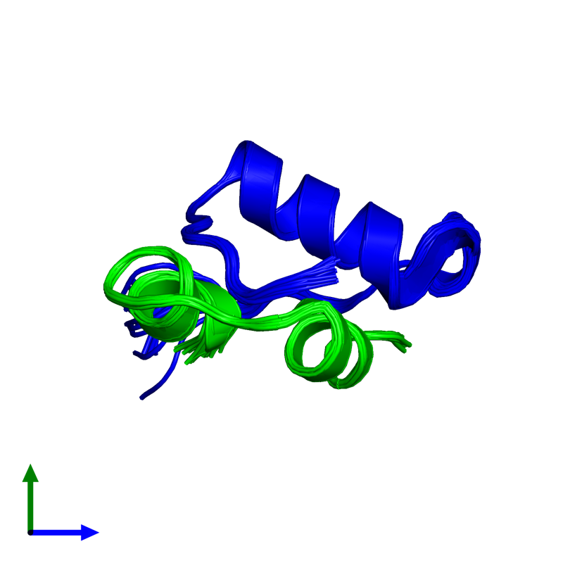 <div class='caption-body'><ul class ='image_legend_ul'> 0-meric assembly 1 of PDB entry 2kjj coloured by chemically distinct molecules and viewed from the side. This assembly contains:</ul></div>