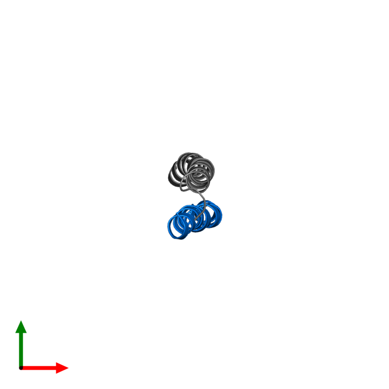 <div class='caption-body'>PDB entry 2l5g contains 1 copy of G protein pathway suppressor 2 in assembly 1. This protein is highlighted and viewed from the top.</div>