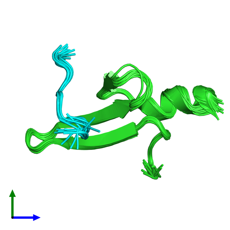 <div class='caption-body'><ul class ='image_legend_ul'>The deposited structure of PDB entry 2laj coloured by chain and viewed from the front. The entry contains: <li class ='image_legend_li'>1 copy of E3 ubiquitin-protein ligase NEDD4-like</li><li class ='image_legend_li'>1 copy of Mothers against decapentaplegic homolog 3</li><li class ='image_legend_li'>There are no non-polymeric molecules</li></ul></li></ul></li></div>