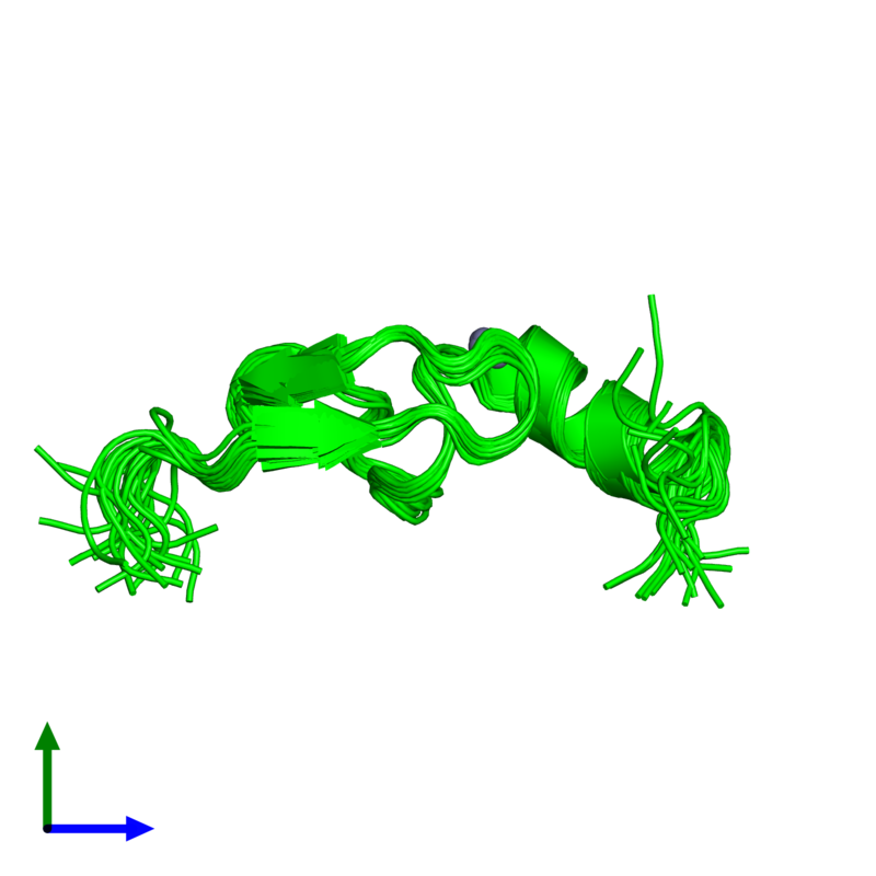 <div class='caption-body'><ul class ='image_legend_ul'>The deposited structure of PDB entry 2w0t coloured by chemically distinct molecules and viewed from the side. The entry contains: <li class ='image_legend_li'>1 copy of LETHAL(3)MALIGNANT BRAIN TUMOR-LIKE 2 PROTEIN</li><li class ='image_legend_li'>There is 1 non-polymeric molecule<ul class ='image_legend_ul'><li class ='image_legend_li'>1 copy of ZINC ION</li></ul></li></div>