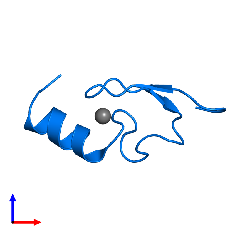 <div class='caption-body'>PDB entry 2w0t contains 1 copy of LETHAL(3)MALIGNANT BRAIN TUMOR-LIKE 2 PROTEIN in assembly 1. This protein is highlighted and viewed from the front.</div>
