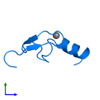 PDB 2w0t contains 1 copy of LETHAL(3)MALIGNANT BRAIN TUMOR-LIKE 2 PROTEIN in assembly 1. This protein is highlighted and viewed from the side.