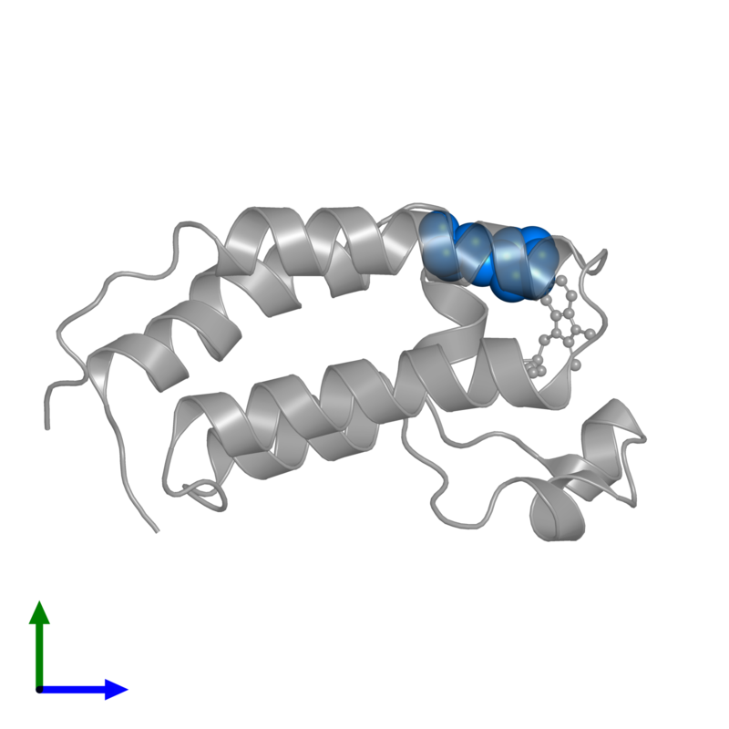 <div class='caption-body'>PDB entry 3aqa contains 1 copy of 2-(N-MORPHOLINO)-ETHANESULFONIC ACID in assembly 1. This small molecule is highlighted and viewed from the front.</div>